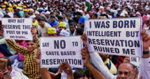 Reservation snatched talent from country