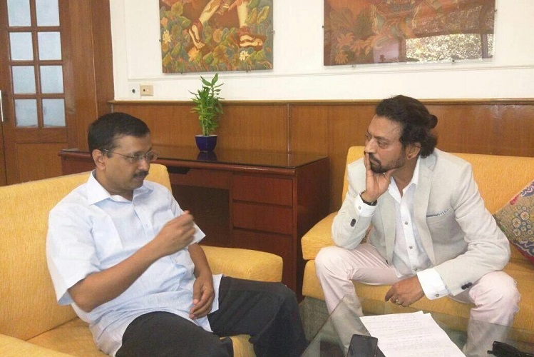 Kejriwal irfan meeting